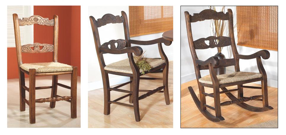 Mifeva hogar muebles y decoraci n for Sillas de madera para salon